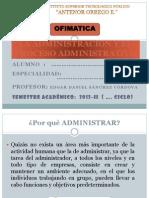 ADMINISTRACION 1, teoria de administr general
