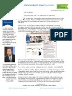 UNAI_Newsletter_issue 5 September 2011