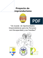 Proyecto Del Grupo Del Sector Discapacidad