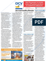 Pharmacy Daily for Thu 18 Oct 2012 - Healthy lifestyles, Abbott double digits, Diabetes, CHOICE detox review and much more...