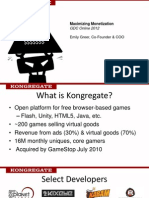 GDC Online 2012 - Maximizing Monetization in Free to Play Games