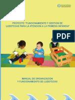 Funcionamiento y Gestion de Ludotecas Para La Atencion de La Primera Infancia
