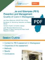 Pre-Eclampsia and Eclampsia (PE/E) Prevention and Management