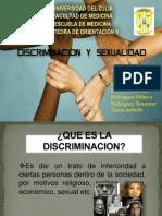 Discriminacion y Sexualidad.