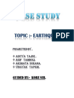 Earthquake Case Study