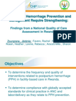 Preventing Postpartum Hemorrhage