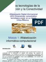 La Alfabetización Digital Informacional y las NTICx