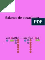 Balance de Ecuaciones