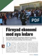 """Nya ledare, ny ekonomi"", för Aktiespararen"