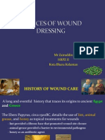 Choices of Wound Dressing