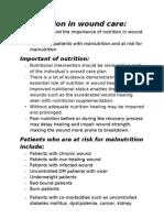 Malnutrition Universal Screening Tool (MUST) FLOW CHART