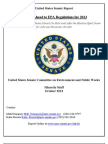 A Look Ahead to EPA Regulations for 2013