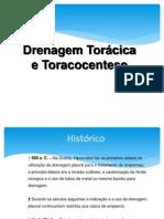 TÉCNICA CIRÚRGICA - Drenagem torácica e Toracocentese