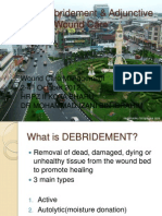 Wound Debridement & Adjunctive Wound Care2