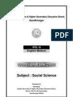 CBSE Social Science 10 Question Bank