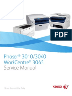 Xerox Service manual_ Phaser  3010/3040WorkCentre 3045