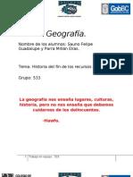 Historia Del Fin de Los Recursos.