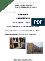 Lucrari de Structuri Pentru Constructii_T. Mahu