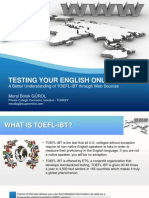 Testing Your English Online
