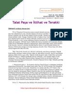 Talat Paşa ve İttihat ve Terakki