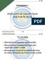 ASP 2 Pengantar Akuntansi Sektor Publik