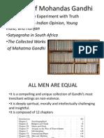 Works of Mohandas Gandhi