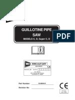 101i-Super C Hydraulic Saw Manual