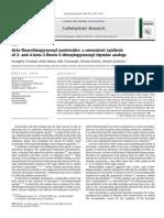 Tsoukala Et Al Carbohydrate Research 346 (2011) 2011-2015