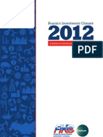 Russia's Investment Climate 2012
