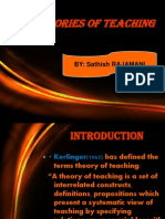 Teaching Theories