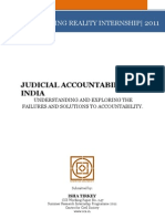 247 Judicial Accountablity in India Isha Tirkey
