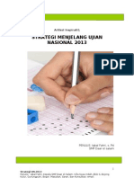 Strategi Menghadapi Ujian Nasional 2013
