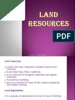 Land Resources