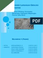 Ekskursi Lapangan Geologi Struktur