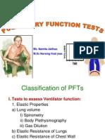Pulmonary Function Tests Scribd