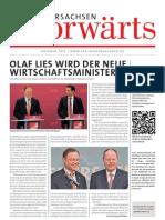 Niedersachsen-Vorwärts 10/2012