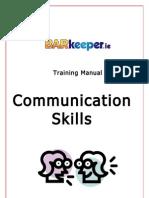 Training Manual Communication