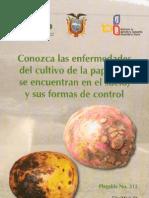 Conozca las enfermedades del cultivo de la papa que se encuentran en el suelo y su forma de control (Plegable)