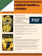 Troy & Ithaka Teacher Guide