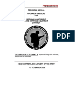 TM 10-8465-236-10  TECHNICAL MANUAL OPERATOR'S MANUAL  FOR MODULAR LIGHTWEIGHT LOAD-CARRYING EQUIPMENT (MOLLE) II