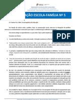COMUNICADO ESCOLA / FAMILIA