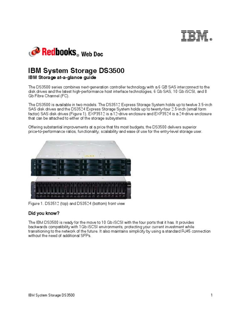 tips 0836 hard disk drive computer data storage rh scribd com ibm ds3524 configuration guide IBM Storage