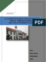 Proposal Skripsi Akuntansi