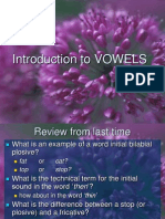 4 Vowels