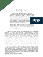 El Padre Las Casas. José Martí