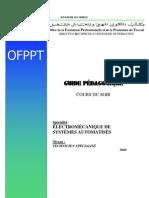 Guide Pédagogique ENTRETIEN SYSTEMES AUTOMATISES