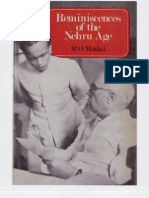Reminiscences Of The Nehru Age By M.O. Mathai Part  1of 2