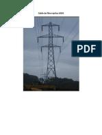 Cable de fibra óptica ADSS