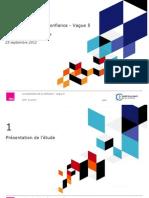 Baromètre de confiance des Français à l'égard des associations - vague 5