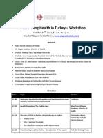 Transforming Health in Turkey – Workshop